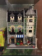 2462Pcs Lepin 15008 City Street Creator Green Grocer Model Building Kits Minifigure Blocks Bricks brinquedos legeod(China (Mainland))