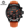 Brand OCHSTIN 2016 new men s watches quartz watch men real three dial luminous waterproof outdoor