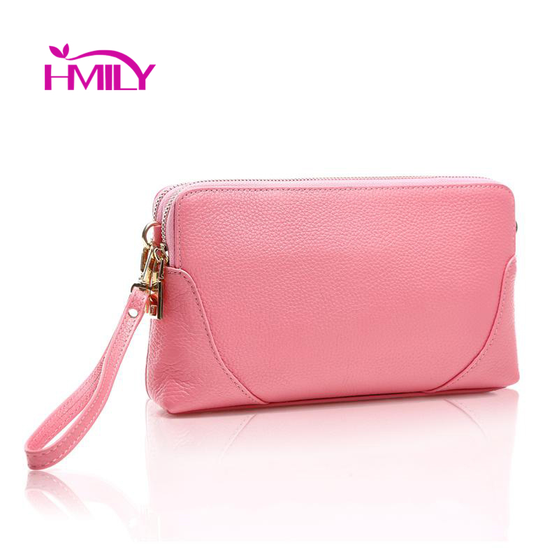 First layer cow leather women messenger bags mini handbags genuine cow leather shoulder bags solid day clutch make up bags(China (Mainland))