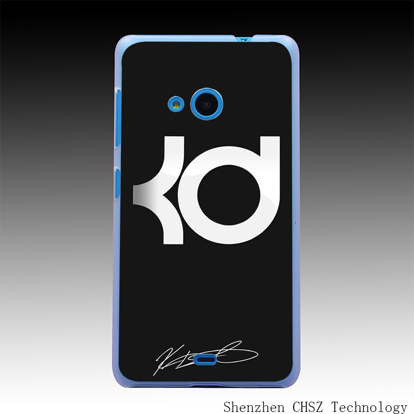 895e Basketball Star Kevin Durant KD Hard Clear Case Transparent Cover for Microsoft Nokia Lumia 535 630 640 640XL 730(China (Mainland))