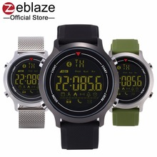 Buy Zeblaze VIBE Hiking 5ATM Waterproof 365 Days Stand-by Time Sport Smart Watch Android&iOS for $15.99 in AliExpress store