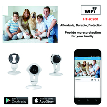 Buy Cube IP camera wifi 720P 1.0 Megapixels ONVIF p2p plug play real time Wireless ip camera for $49.90 in AliExpress store