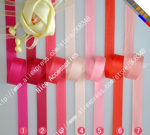"""7/8"""" 22mm Polyester Seam Binding Ribbon Satin Ribbon gift Packaging ribbon bows DIY Accessories SB022(China (Mainland))"""