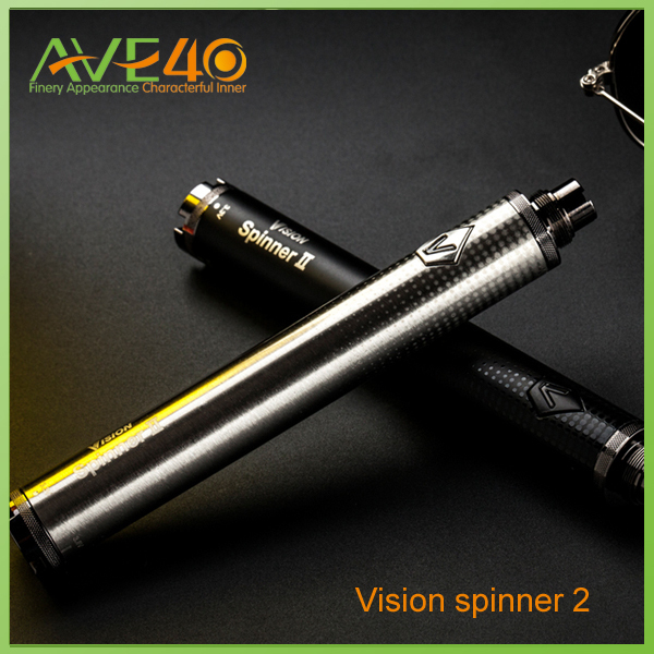E Cig battery  Shock listed!2014 Newest vision e cig 1650mah Vision Spinner II ego twist hot From Ave 40<br><br>Aliexpress