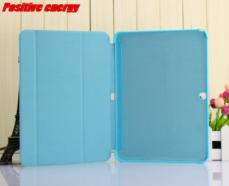 OTG Cable Stylus Pen Screen Protector Stand PU Leather Case for Samsung Galaxy Tab 4 10
