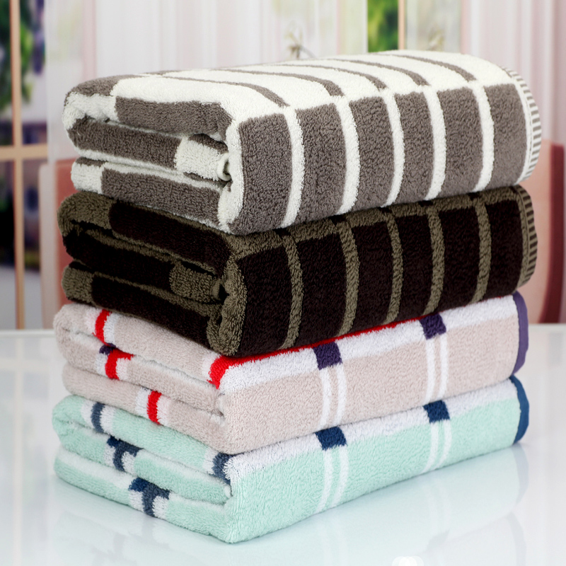 Free shipment! Dd 100% cotton bath towel plus size cotton thickening 100% soft absorbent towels lovers design towel wool-42(China (Mainland))