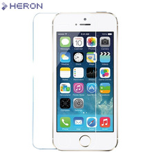 0.3mm Tempered Glass Film for iPhone 5 5s 9H Hard 2.5D Screen Protector for iPhone 6 6s 6 plus SE 4 4S with Clean Tools(China (Mainland))
