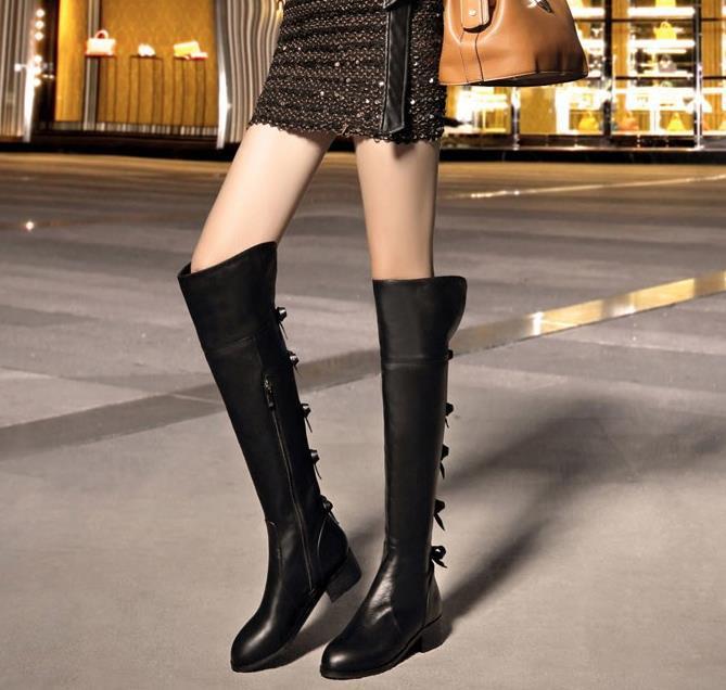 genou converse noir bottes hautes