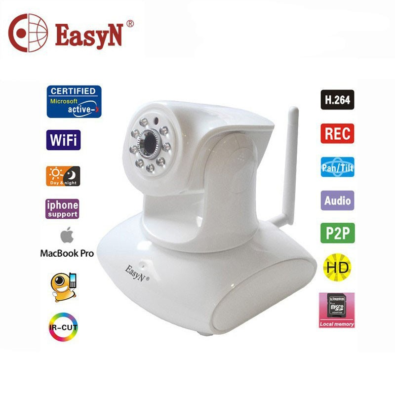 EasyN 147W 1080P HD Indoor CCTV Camera Support 2-Audio Webcam Wireless IP Camera(China (Mainland))