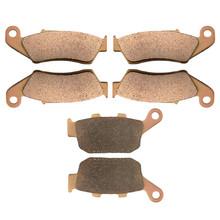 Motorcycle Front Rear Brake Pads HONDA XL650 XL 650 VY / V1/ V2/ V3/ V4/ V5/V6/ V7 Transalp 2000-2007 Sintered Pad - Earth Family store