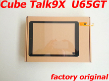 """Original New Quality 9.7"""" Touch Screen for Cube Talk9X U65GT Touchscreen Black Talk 9X Panel Glass Replacement(China (Mainland))"""