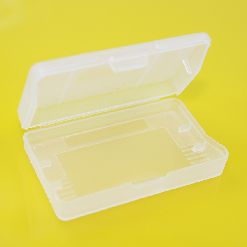 30 pieces / lot hard clear plastic cases for Nintendo game boy Advance GBA SP GBM GBA Games Card Cartridge (box)(China (Mainland))