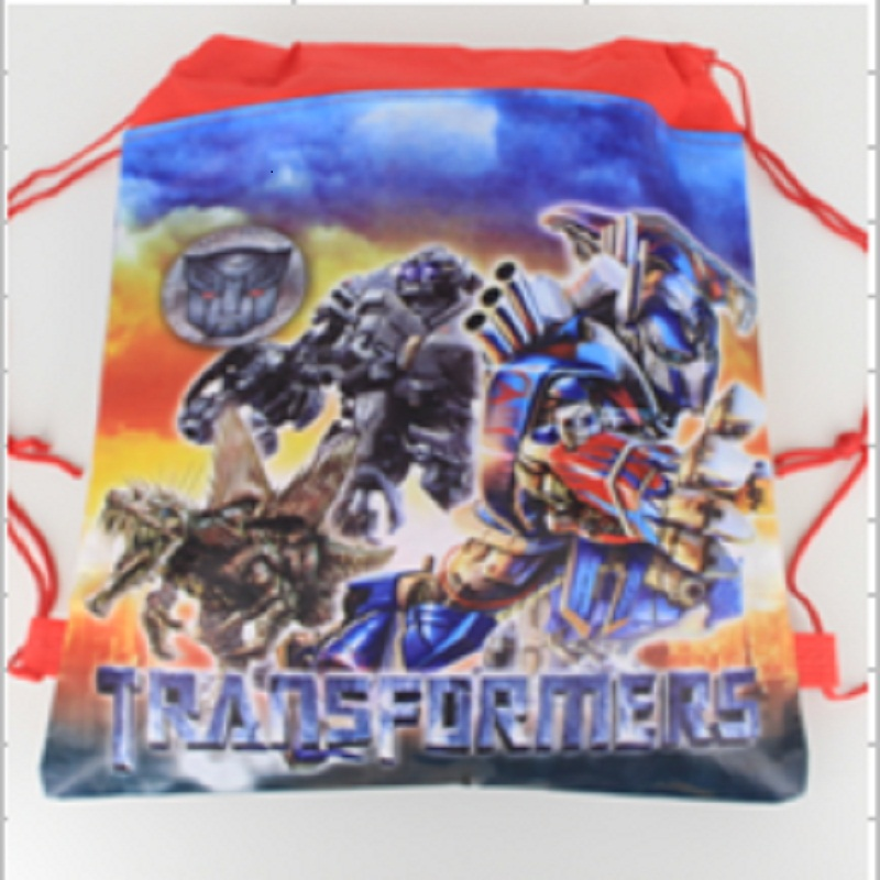 1pcs Transformers Captain Kids schoolbag backpack kids birthday party Favor, Mochila escolar, school kids backpack(China (Mainland))