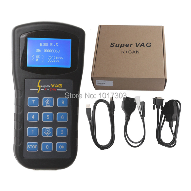 Newest version super vag scanner super vag k can 4.8 added for reading fauty codes vag k can 4.8 support Comprehensive model,(China (Mainland))