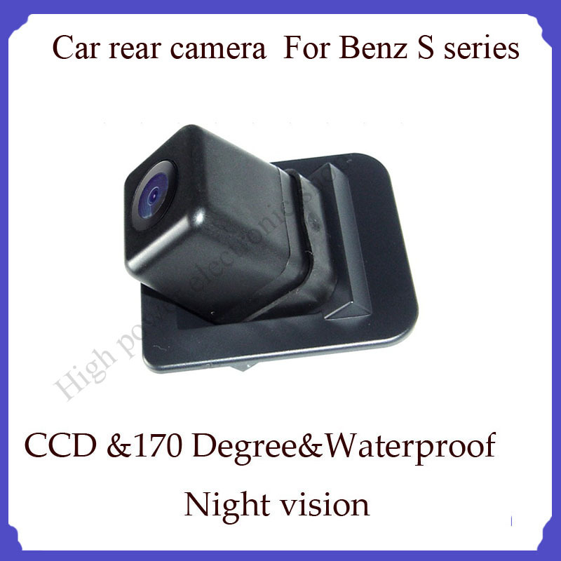 Wireless Car Rear View Reverse Camera wireless waterproof high quality car camera for benz S series car camera newest best(China (Mainland))