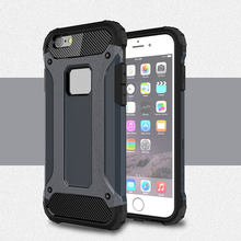 Cover For Apple iPhone 6S Plus Case Dual Layer Armor TPU & PC Case For iPhone 6 Plus 5.5 Cover Business Style Mobile Phone Funda