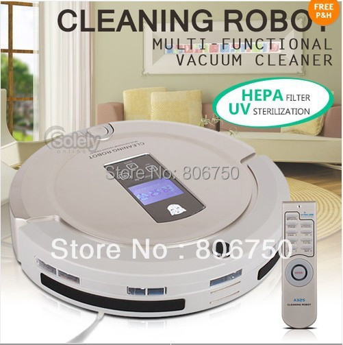 ( Free Shipping For Russian Buyer )2015  Brand New Coming Yellow Color  4 In 1 Multifunction Robot Vacuum Cleaner