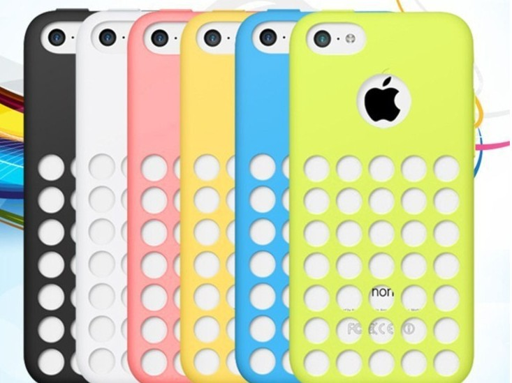Matte Soft Silicon Rubber Anti-skidding Case Dots Hole Design Back Cover For iPhone 5C iphone5C Gel Skin Pouch Phone case(China (Mainland))