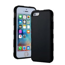 20pcs/lot Free shipping 2colours Antigravity adorption Wall-Magic TPU soft back cover case for apple iphone 5 5s se housing