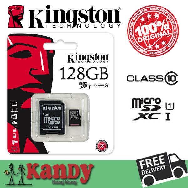 Kingston micro sd xc sdhc card memory card 8gb 16gb 32gb 64gb 128gb class 10 cartao de memoria tarjeta flash tf scheda microsd(China (Mainland))
