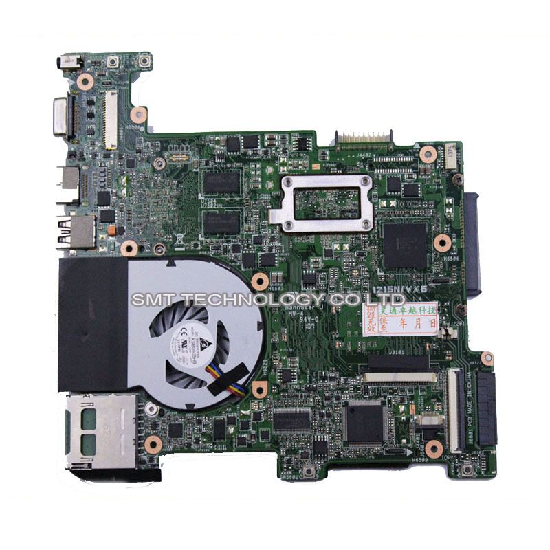 original For Asus Eee PC 1215N/VX6 laptop motherboard non-integrated mainboard rev1.4 1.5 with cooler tested working perfect(China (Mainland))