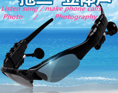 tb202/4.1 Smart Bluetooth glasses / Sports Bluetooth Sunglasses/multifunction smart music / talk /Photo pictures(China (Mainland))