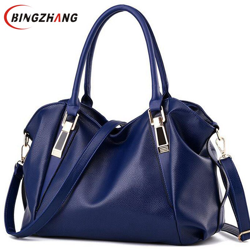 2016 Women famous brands shoulder bag New Brand Name Fashion Guaranteed designers tote leather bags handbags L4-2641(China (Mainland))