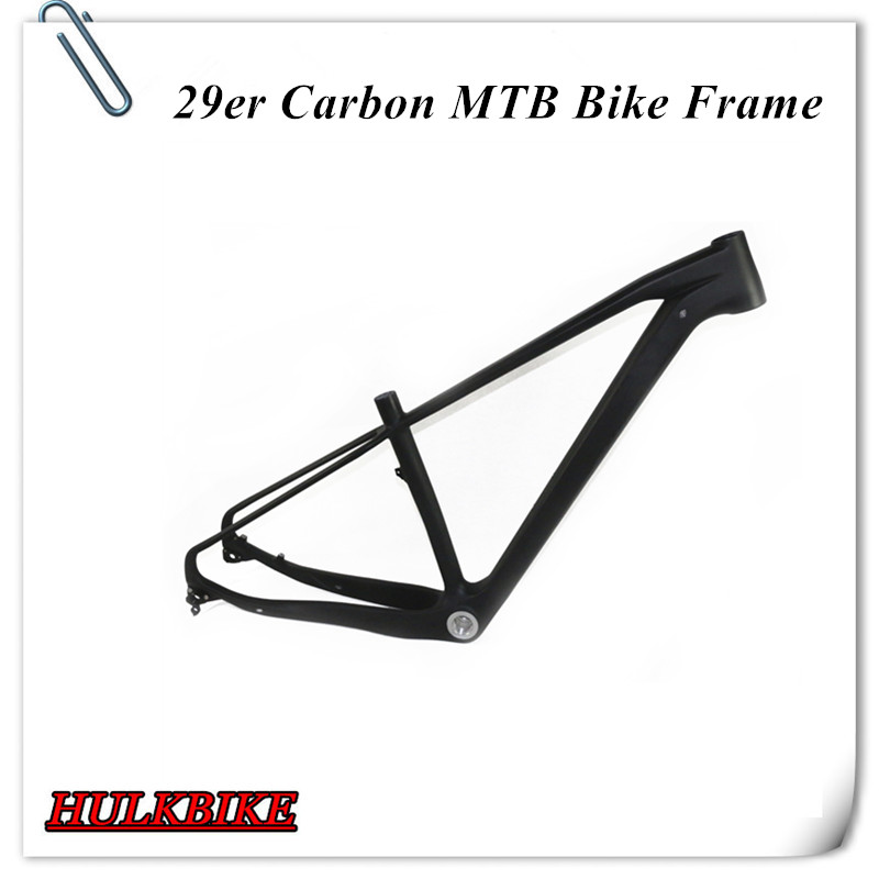 Free shipping super light carbon MTB frame 29er  T700&amp;T800 full carbon mountain bicycle frame<br><br>Aliexpress