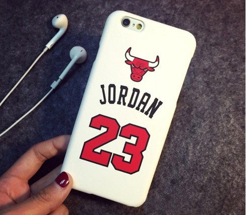 Chicago Bulls No.23 Jordan Basketball Matte PC Cover For iPhone SE 5 5S 5C 6 6S 6Plus 7 7Plus Jumpman Sports Phone Cases case