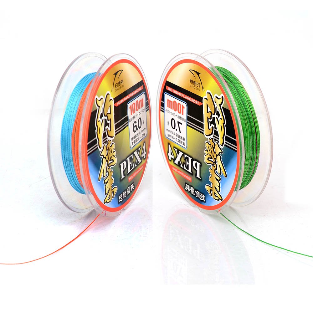 PE 4 Braided Fishing Line 0.16mm-0.50mm, #1.0-#8.0, 22 40 50 70 80 90 105 130LB, Material from Japan Super Strong(China (Mainland))