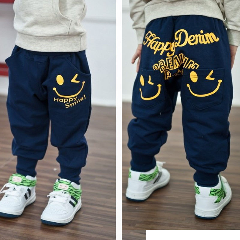 Гаджет  Retail 2015 New spring autumn cotton kids pants Boys Girls Casual Pants 2 Colors Kids Sports trousers Harem pants Hot None Детские товары