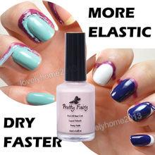 Pretty Fairy 15ml Pink Color Peel Off Liquid Nail Art Latex Tape Palisade Base Coat Elastic FAST DRY Manicure Tool(China (Mainland))