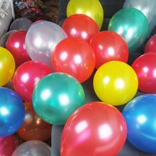 P1032 100pcs multiple color 1.5g  10inch pearlescent balloon latex balloon event & party supplies(China (Mainland))