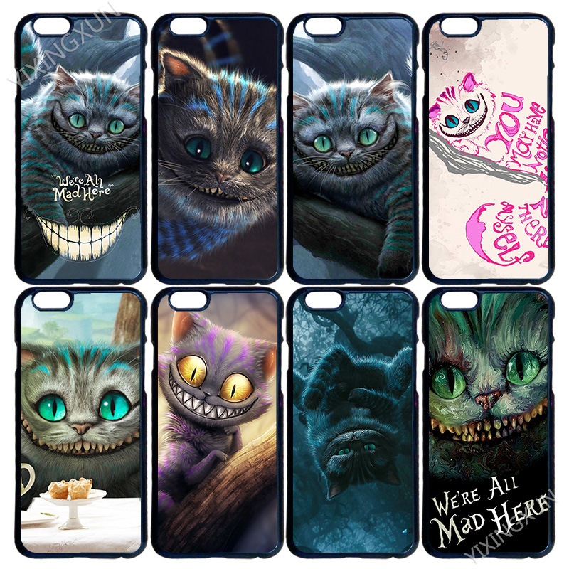 New Cheshire Cat Alice in Wonderland DIY Customized Case Cover for LG G3 G4 iPhone 4 4S 5 5S 5C 6 6S 7 Plus iPod Touch 4 5 6New(China (Mainland))