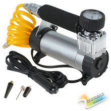 [SALE] YD-3035 12V 100PSI Car Tire Tyre Inflator Portable Metal Vehicle Auto Electric Pump Air Compressor(China (Mainland))