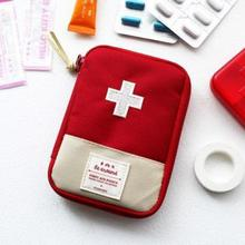 New South Korea Travel Home Portable First-aid Bag To Carry Small Medical Emergency Kit First-aid Kits(China (Mainland))