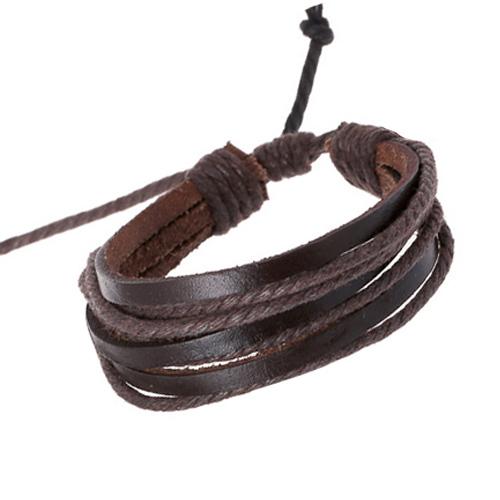 Hot Sale 2015 Summer Fashion Simple Style Bracelet Hemp Rope Braided Leather Chain Unisex Cuff Bracelets Couple Bracelet Jewelry(China (Mainland))
