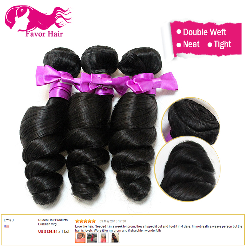 Unprocessed Brazilian Loose Wave Virgin Hair 6A Human Hair Weave Bundles 3 Pcs Loose Wave Brazilian Hair Weave Bundles For Sale<br><br>Aliexpress