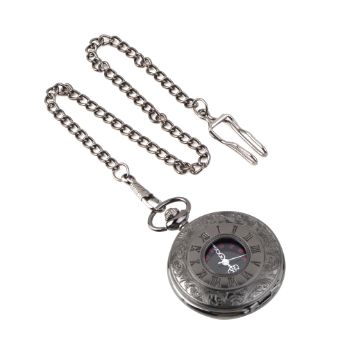 High Quality 1 PC Dial 45mm Roman dual display gift antique pocket watch pocket watch retro