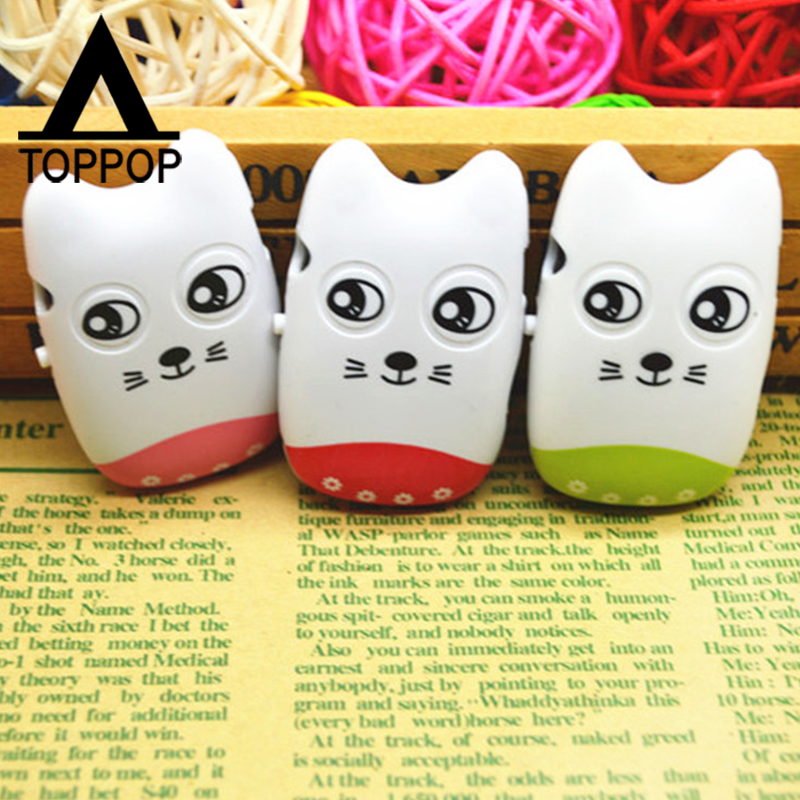 Mini Lovely Cute Cartoon Cat Face MP3 Player Music Media Player Memory TF Card Slot Business Promotion Birthday Gift(China (Mainland))