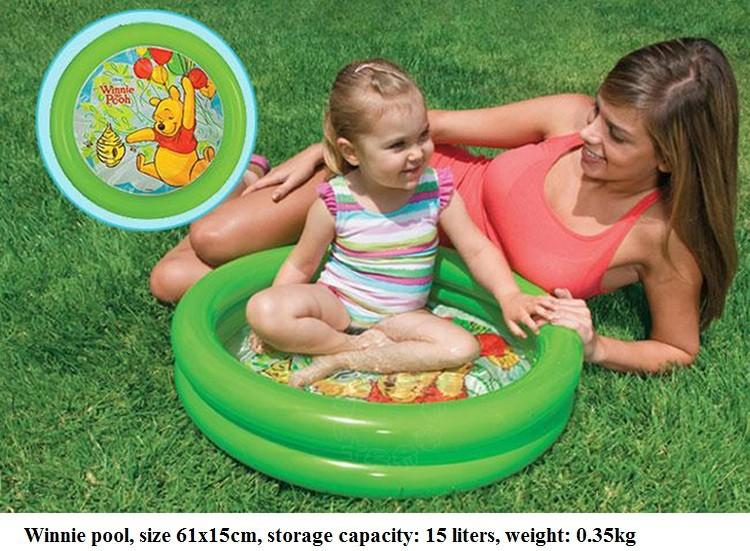 Intex Baby Inflatable Swimming Pool Child Paddling Pool Child Infant Bathtub Baby Pool 1 3