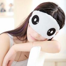 1pcs lovely Panda Sleeping Eye Mask Nap Eye Shade Cartoon Blindfold Sleep Eyes Cover Sleeping Travel