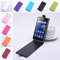 Fashion 9 colors Flip Leather Cover Case for Lenovo A536 Vertical Back Cover Magnetic Protective Shell
