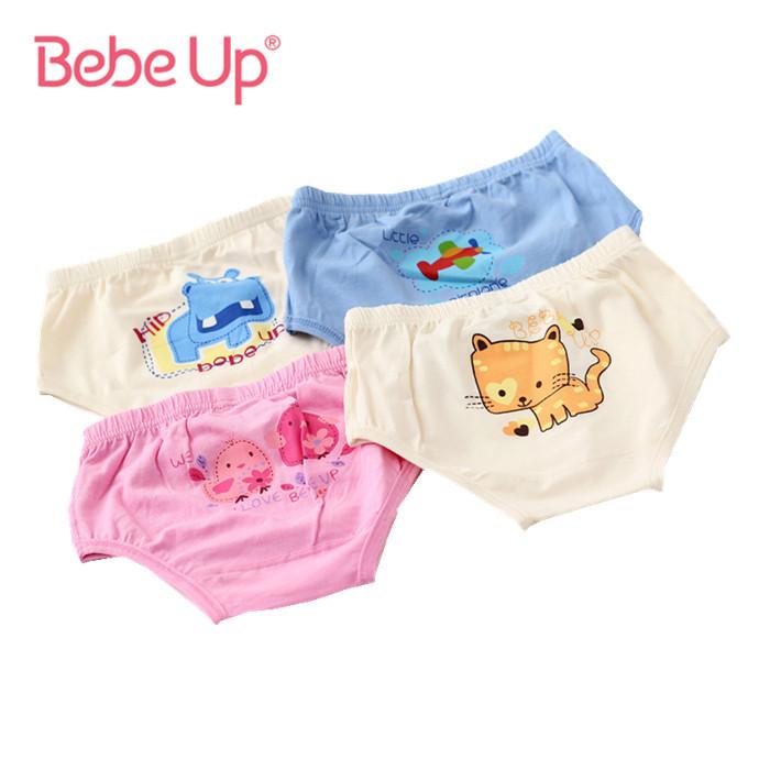 1111 Shopping Festival Unisex Boys Girls Underwears Toddler Kids Children Organic Cotton Cartoon Cute Panties Brand Bebe Up(China (Mainland))