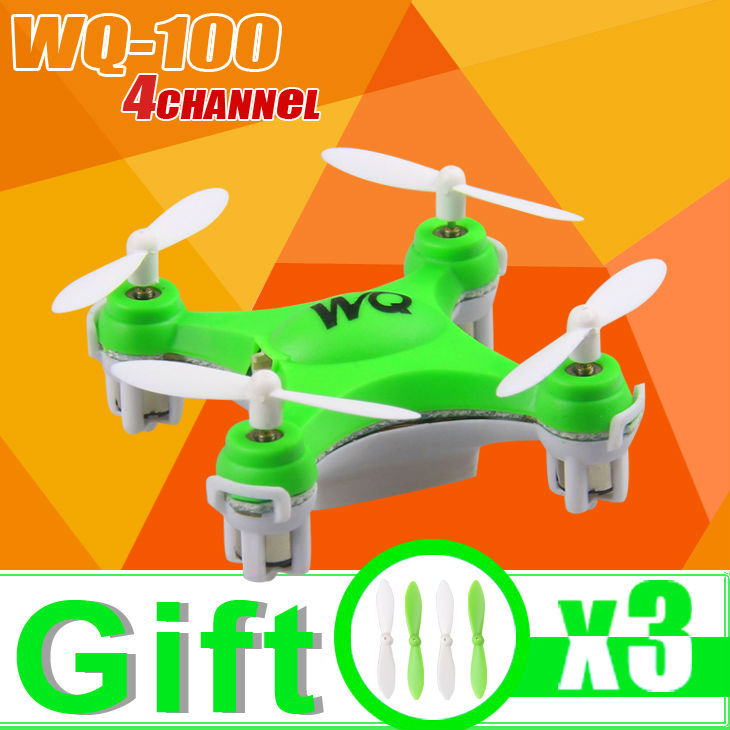 Free shipping In stock limited edition WQ-100 helicopter 2.4G Remote Control Toys 4CH 6Axis RC Quadcopter rc helicopters(China (Mainland))