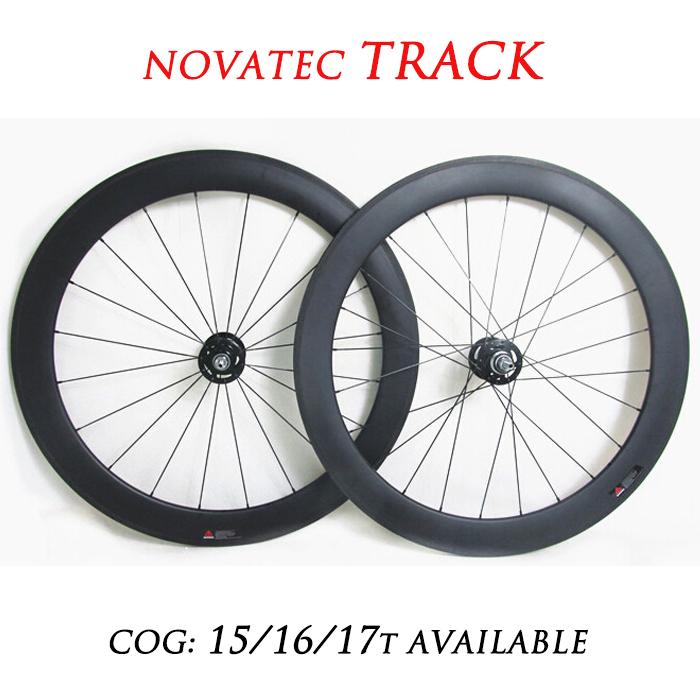 [TRACK] 700c 60mm Carbon Track Tubular Wheelset Fixed Gear Wheels Single Speed(China (Mainland))