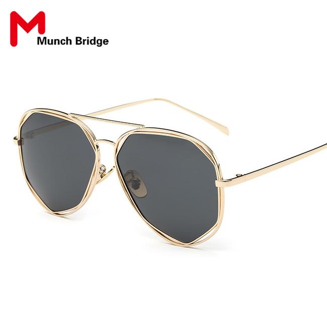Fashion Retro Vintage Aviator Style Sun Glasses Women's Polarized Sunglasses Outdoor Ladies Black Shades Eyewear Accessories(China (Mainland))