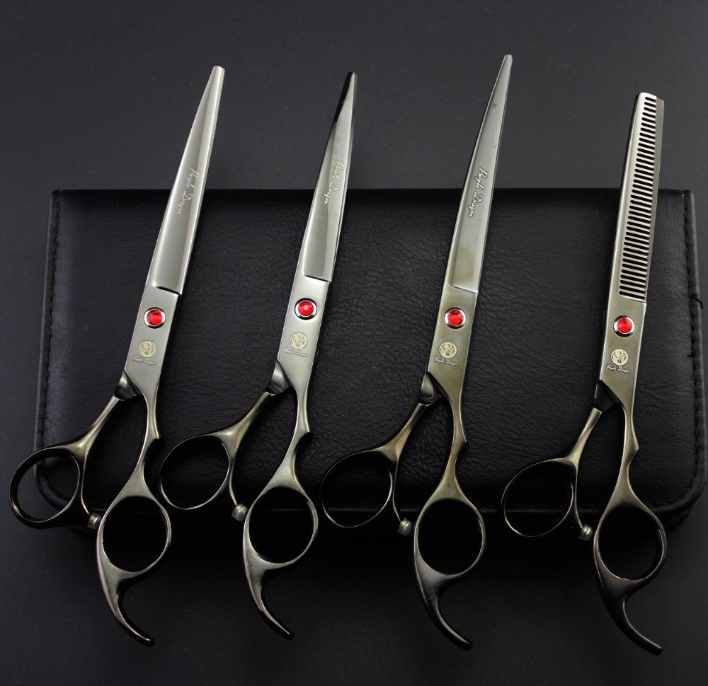 2016 Hot 7 inch classinc black high quality scissors free with comb , flexible scissors, cutting scissors,thinning scissors<br><br>Aliexpress