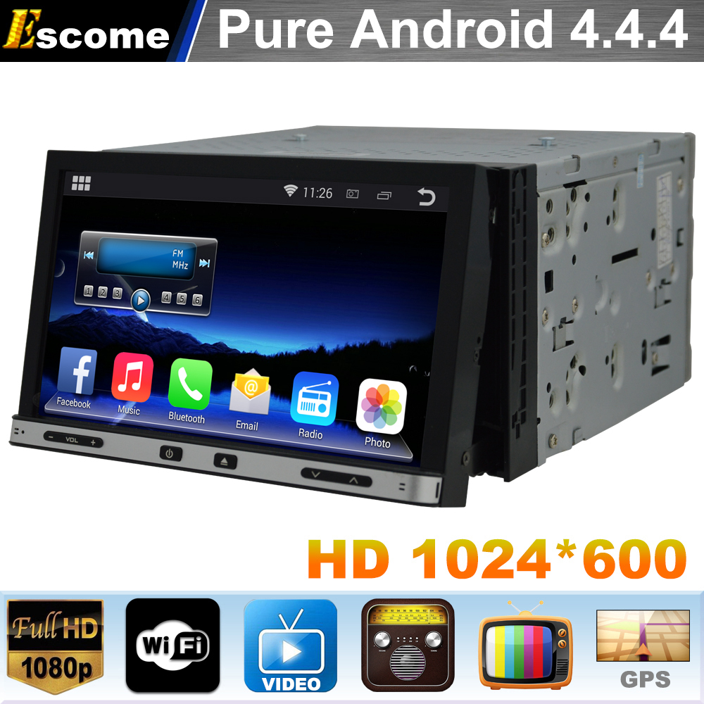 Pure Android 4.4 Car DVD Player universal 2 din GPS Navi For ISSAN PALADIN 2005 2006 2007 2008 2009 2010 2011 NISSAN FRONTIER(China (Mainland))