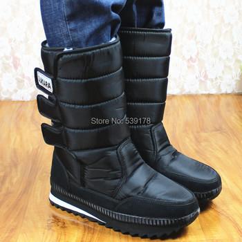 2015 Winter boots men warm shoes platform snow boots men boots thick waterproof slip-resistant winter shoes
